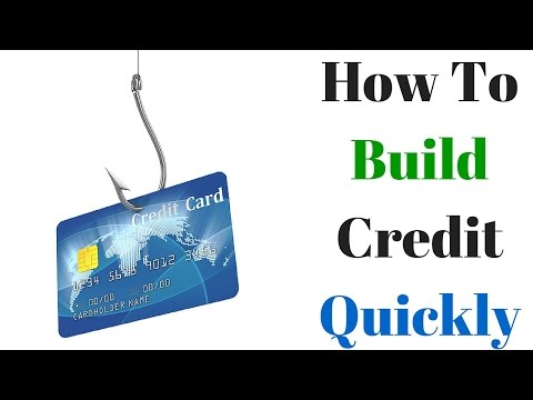 How To Build Credit Quickly