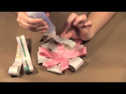 Scrap Time - Ep. 711 - Big Loopy Paper and Fabric Bows!