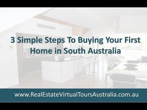 3 Simple Steps To Buying Your First Home South Australia