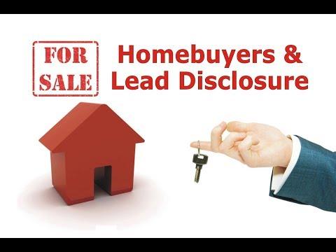 Homebuyers & Lead Disclosure
