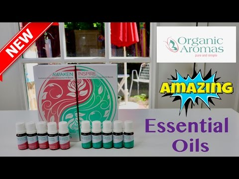 😍 ORGANIC AROMAS   ❤️  Essential Oil Set - REVIEW (New) 2018 ✅