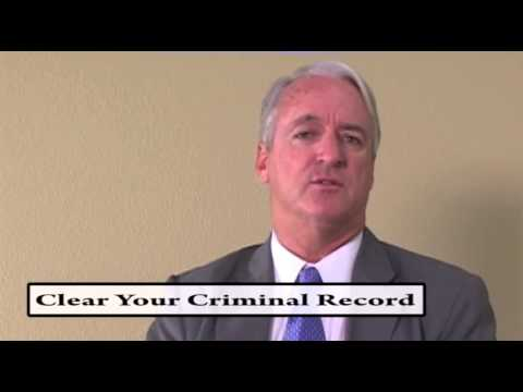 Clear Your Criminal Record - Expungement
