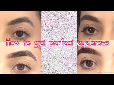 How to get The perfect semi permanent eyebrow/ henna eyebrows