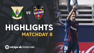 Highlights CD Leganes vs Levante UD (1-2)