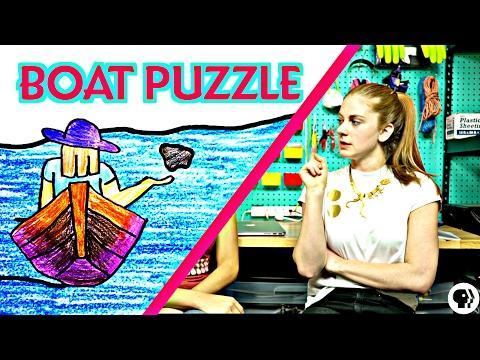 The Boat/Rock Brainteaser ft Simone Giertz part 2/3