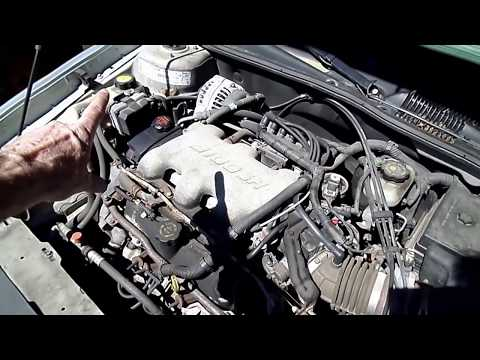 GM 3100,3400,3500 Engine Coolant Temp Sensor Replacement