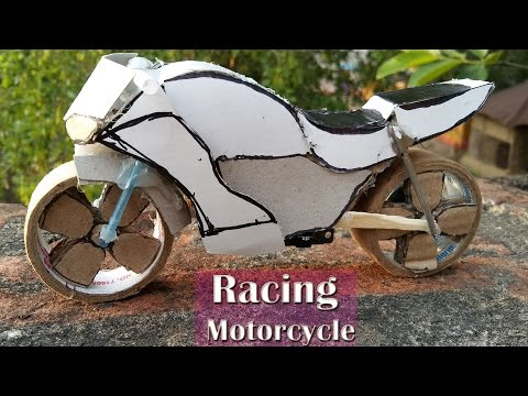 How to Make Mini Electric Racing Motorcycle