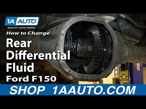How to Change Rear Differential Fluid 2004-14 Ford F150