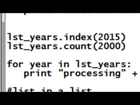 Python Lists Tuples