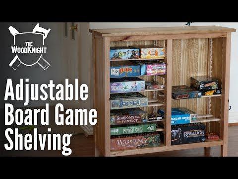 Adjustable Board Game Storage (Box Usurper) | Woodworking