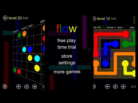 How to Install and Play with Flow Free Puzzle Game