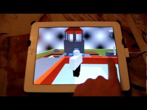 ROBLOX Client on iPad - in Development