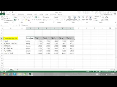 Excel For Noobs Part 48: How to Use Cell Styles to Format Cells in Excel 2016 Tutorial Excel 2013