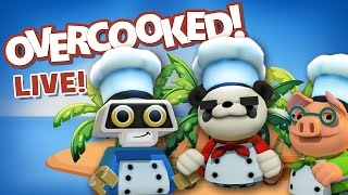 OVERCOOKED - The Lost Morsel DLC - Livestream