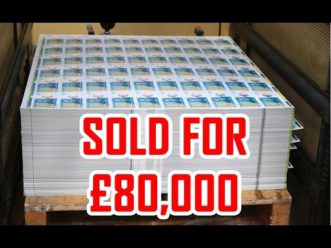 New 2016 UK 5 Pound Note Madness on eBay