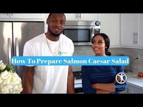 How To Prepare Salmon Caesar Salad