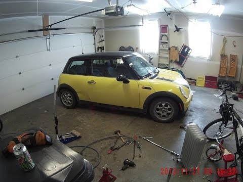 How To: MINI Cooper Wheel Bearing Replacement