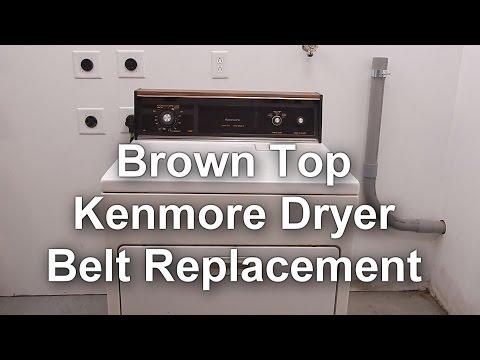 Kenmore Dryer Belt Replacement - How to DIY