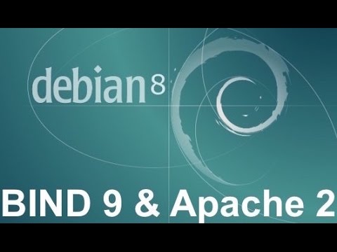 HOW TO SETUP DNS AND WEB SERVER - Debian 8