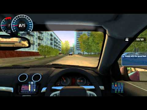 City Car Driving Career Walkthrough 3 STAR - Novice 1 - Yard Driving