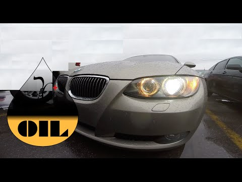 BMW 3 series [2006:2012] ||| How to Check the Oil Level