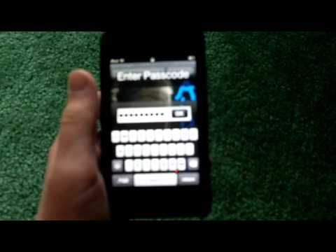 how to get into ipod touch passcode hack (joke)