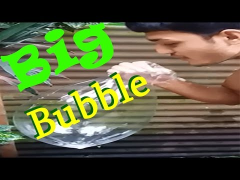 How To Make a BIG Bubble at Home ||| DIY BIG BUBBLES With ‍Soap Very Easy Way!!!