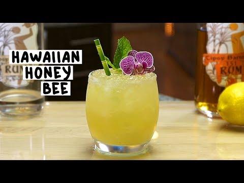 Hawaiian Honey Bee - Tipsy Bartender