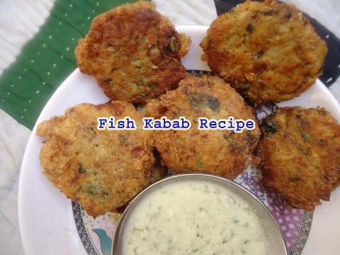 Fish kabab recipe in hindi english