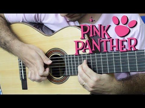 THE PINK PANTHER - Fingerstyle Guitar (Marcos Kaiser)