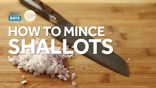 Knife Skills: How to Mince Shallots