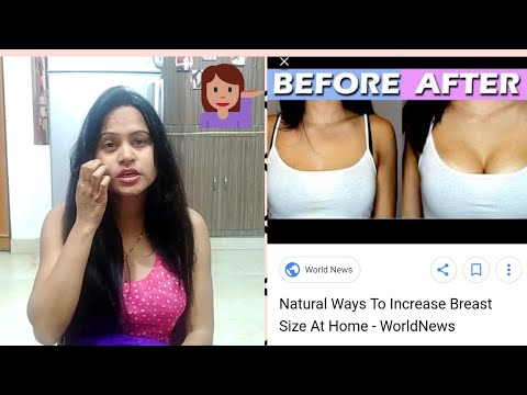 Natural Ways To Increase Breast  Size Tips#Say No To Surgery