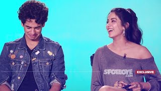 Ouch, Janhvi Kapoor Sat On A Pointed Pencil! Ishaan Khatter Kissed When 14! | Dhadak | SpotboyE