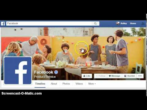 How to get Facebook page content notification