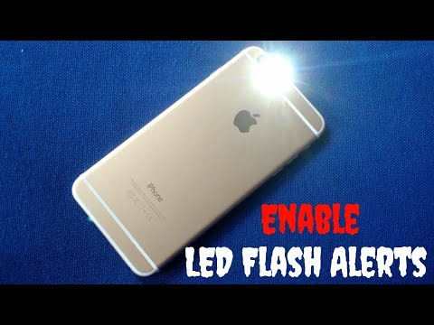 How To Enable Flash Notification In iPhone (iOS 12)