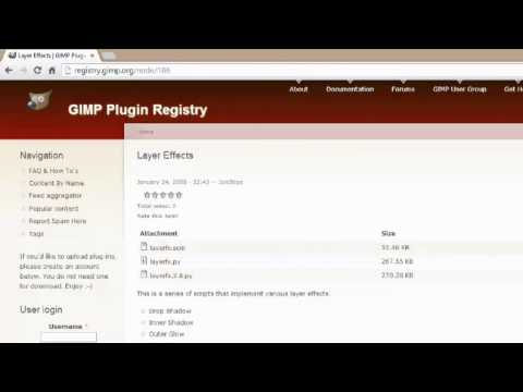 How to Put a Plugin on GIMP : Digital Imaging