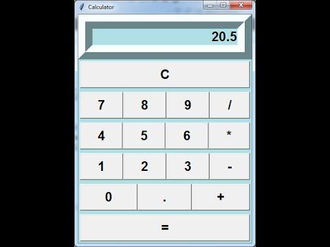 Python Calculator Tutorial in Visual Studio 2015