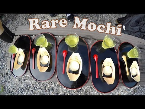 Trying Rare Water Mochi (Mizu Shingen Mochi)