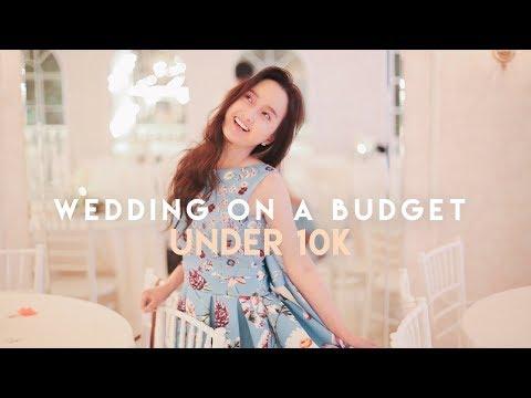 Wedding On A Budget: Keeping It Under 10K 💸