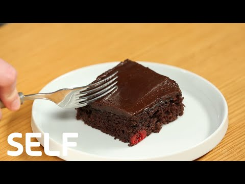 How To Make An Easy Chocolate Cherry Cake