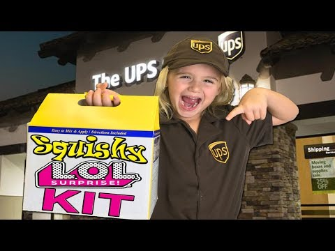 DIY Squishy LOL Surprise Doll KIT!!! (Using Oomoo Molds)