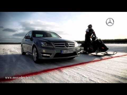 Mercedes-Benz 2012 C-Class VS Snow Mobile HD