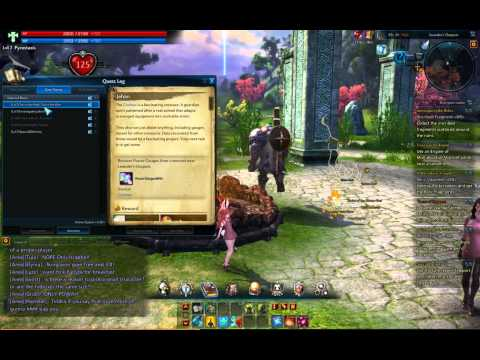 Tera Online How to set quest markers