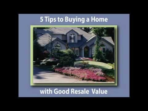 5 Tips for Buying a Home with Good Resale Value