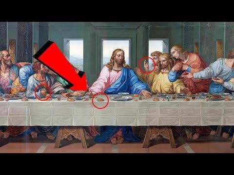 10 SECRET MESSAGES Hidden in Famous Paintings!