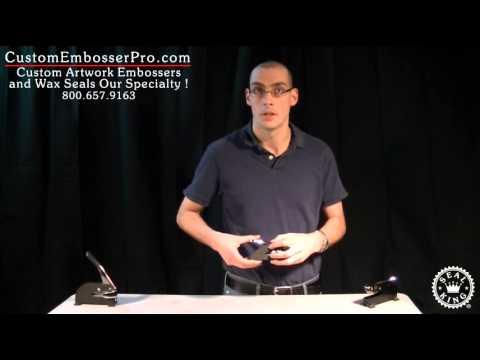Custom Embosser Pro: How To Unlock a Standard Desk Press Embosser