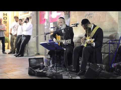 Jewish men singing Pink Floyd's