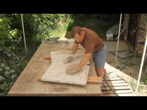 Day Creek Journal Parts 5 and 6: Concrete Countertops
