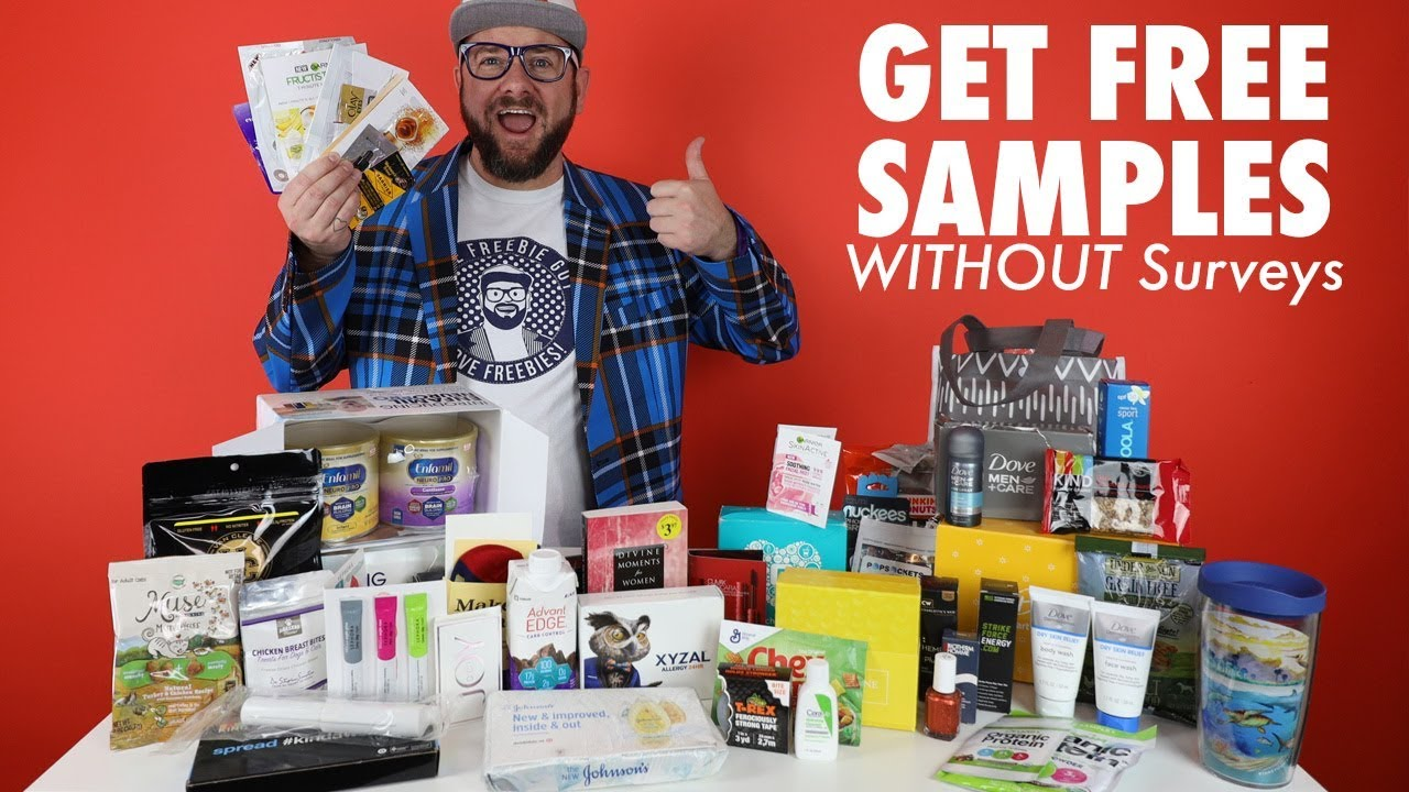 🎁 How to get FREE SAMPLES by Mail WITHOUT SURVEYS!