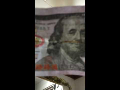 Finding fake money versus finding real money